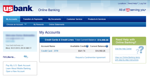 Kroger REWARDS World Mastercard® | About Online Banking